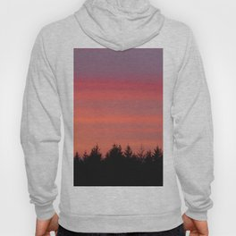 Fire Sky Over The Forest - 76/365 Hoody
