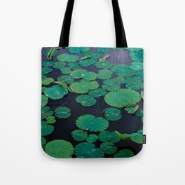 Temple Lilypond Tote Bag