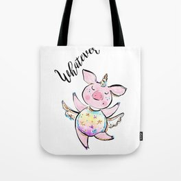 Funny pig lover gift women, Flying pig, Pig Unicorn, Unicorn pig, Flying piggy Unicorn Tote Bag