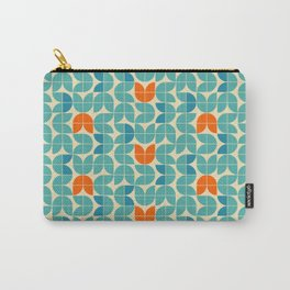 Mid Century Modern Scandinavian Tulips Carry-All Pouch