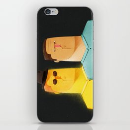 Stalked by Conscience iPhone Skin