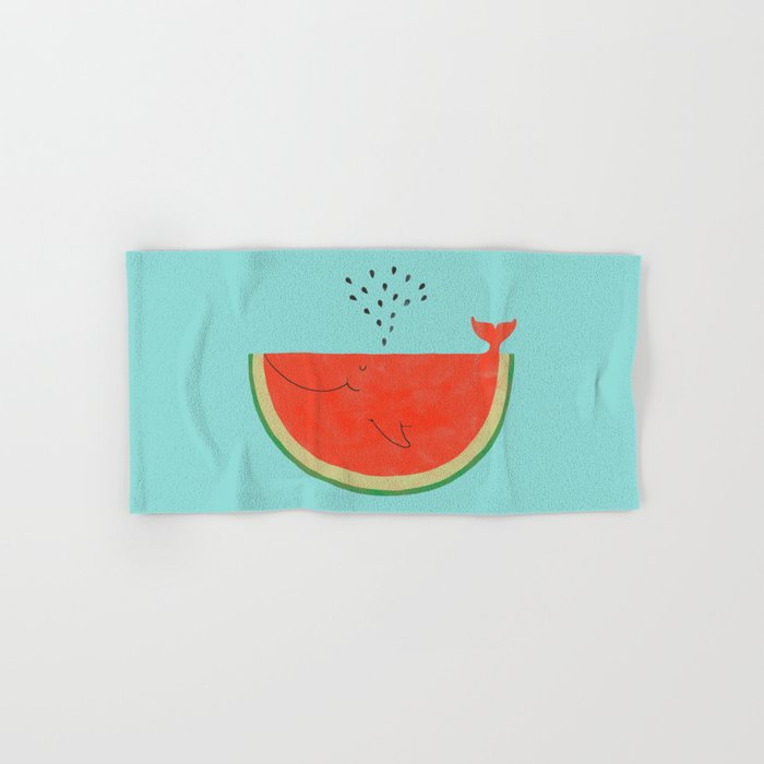 Don't let the seed stop you from enjoying the watermelon Hand & Bath Towel