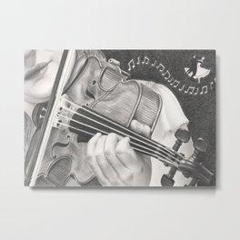 The Note Waltz Metal Print