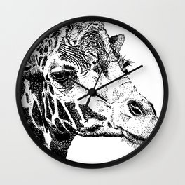 The Giraffe Wall Clock