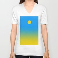 discount V-neck T-shirts featuring Noon by Roxana Jordan