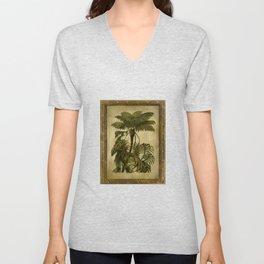 island palms Unisex V-Neck