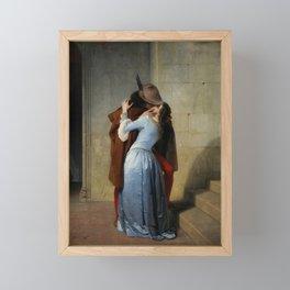 Francesco Hayez, The Kiss, 1859 Framed Mini Art Print
