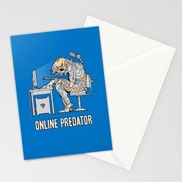 Online Predator Stationery Cards