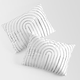 Line art circle 2 Pillow Sham