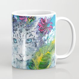 Queen Snow Leopard Coffee Mug