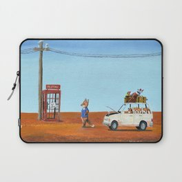 The Out of Service Phone Box Laptop Sleeve