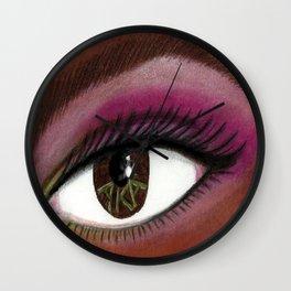 A K A Eye of the Beholder Wall Clock