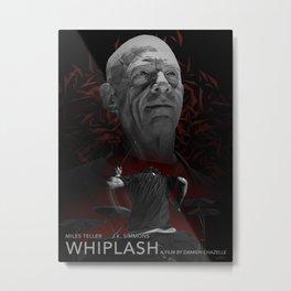 WHIPLASH (variant) Metal Print