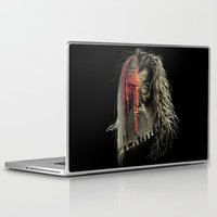 lotr Laptop & iPad Skins featuring Evil Border by RicoMambo