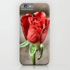 Red Rose Red Slim Case iPhone 6s