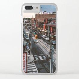 ChinaTown Toronto - Dundas Clear iPhone Case