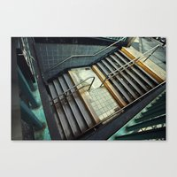 subway Canvas Prints featuring Subway by Sascha Selli