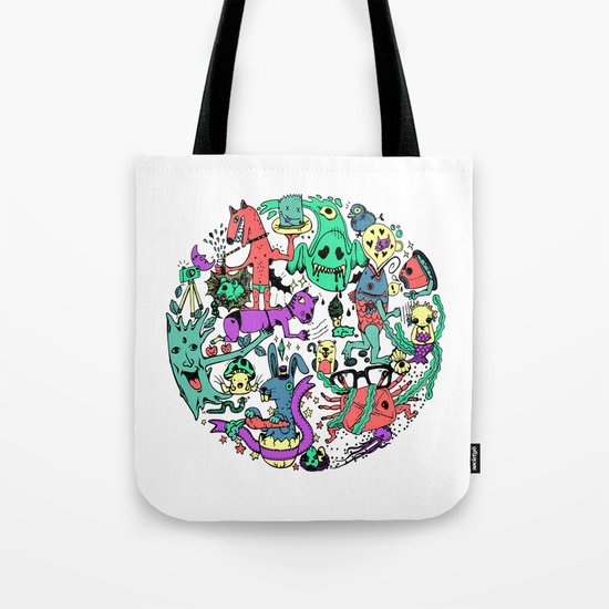 Vicious Circle Tote Bag