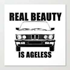 Real Beauty Is Ageless Canvas Print