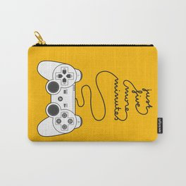 Five More Minutes Carry-All Pouch