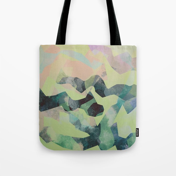 Camouflage X Tote Bag