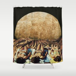 Baby Oil Shower Curtain