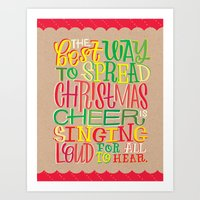 elf Art Prints featuring Elf by Jillian Kaye