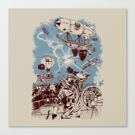 Distant Thunder Canvas Print