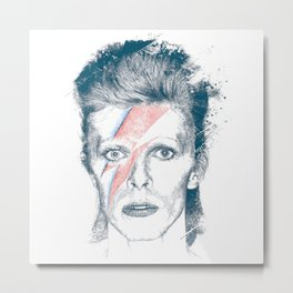 So Long Bowie.... Metal Print