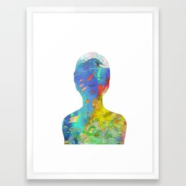 Ocean Thoughts Framed Art Print