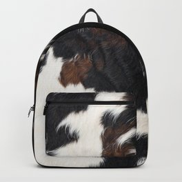 Cowhide Farmhouse Decor Backpack