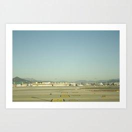 Airport Art Print