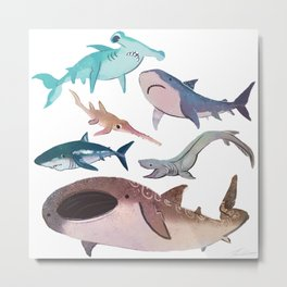 Bloop Bloop Metal Print