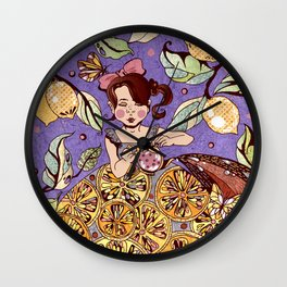 It's time for tea Wall Clock