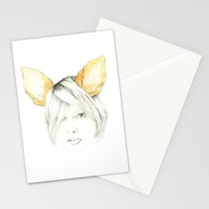 Chihuahua girl Stationery Cards