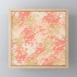 Blush Glow Abstract 8 Framed Mini Art Print