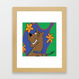 Scooby Framed Art Print