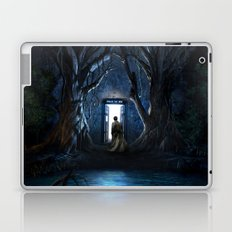 Doors Of Tardis Laptop & iPad Skin