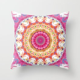 Mandalas of Forgiveness & Release 3 Throw Pillow