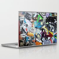 los angeles Laptop & iPad Skins featuring LOS ANGELES by Brandon Neher