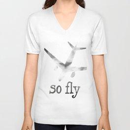 So Fly Unisex V-Neck