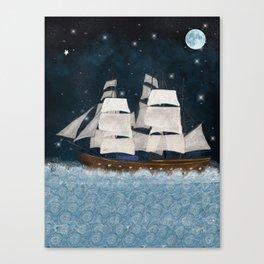 the north star Canvas Print