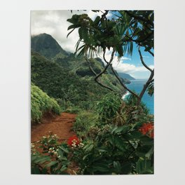 Kalalau Kauai Poster