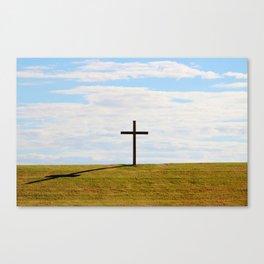 Cross On A Hill Canvas Print