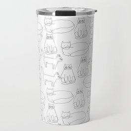 My sister's cats Travel Mug