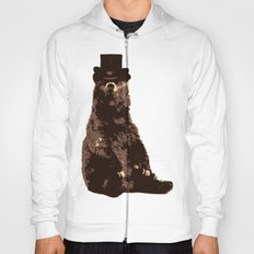 Bear in Hat Hoody