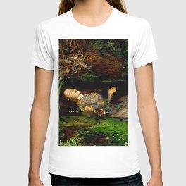 "John Everett Millais ""Ophelia"" T-shirt"