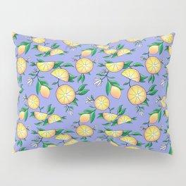 Purple lemons Pillow Sham