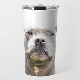 The Serious Staffy Travel Mug