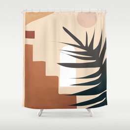 Abstract Elements 19 Shower Curtain